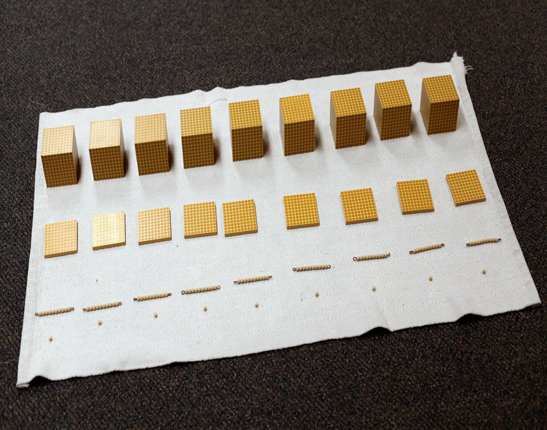 Montessori Material - The Golden Beads
