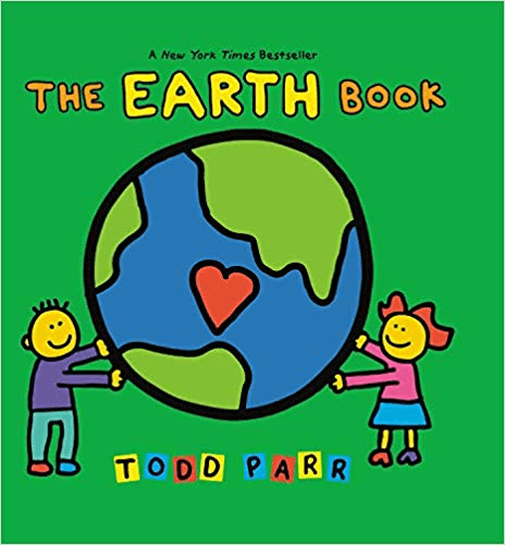 The Earth Book by Todd Parr cover