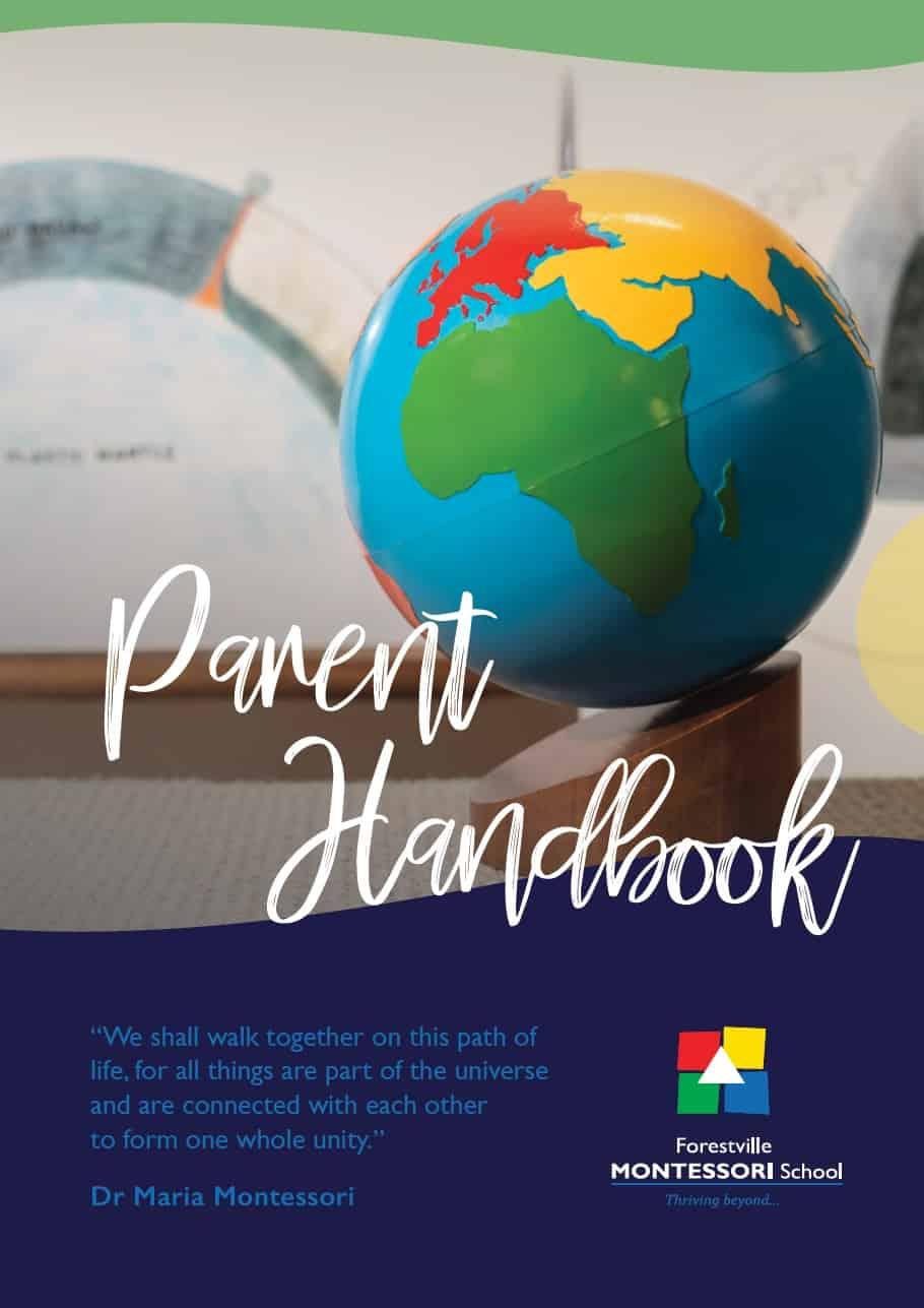 Forestville Montessori Handbook, January 2020